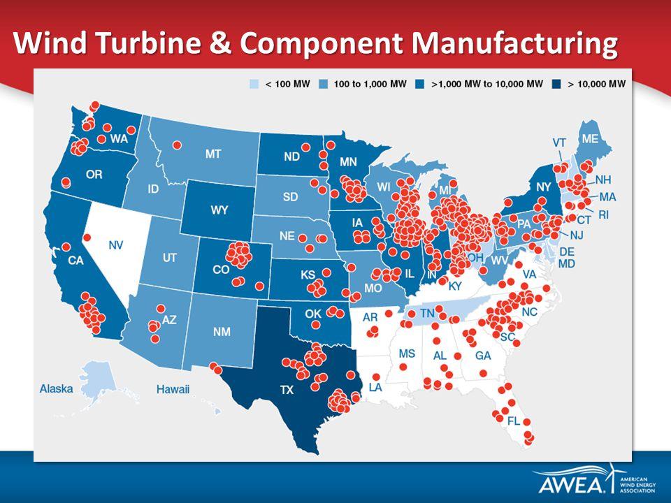 Wind Turbine & Component Manufacturing