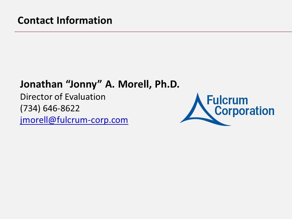Jonathan Jonny A. Morell, Ph.D.