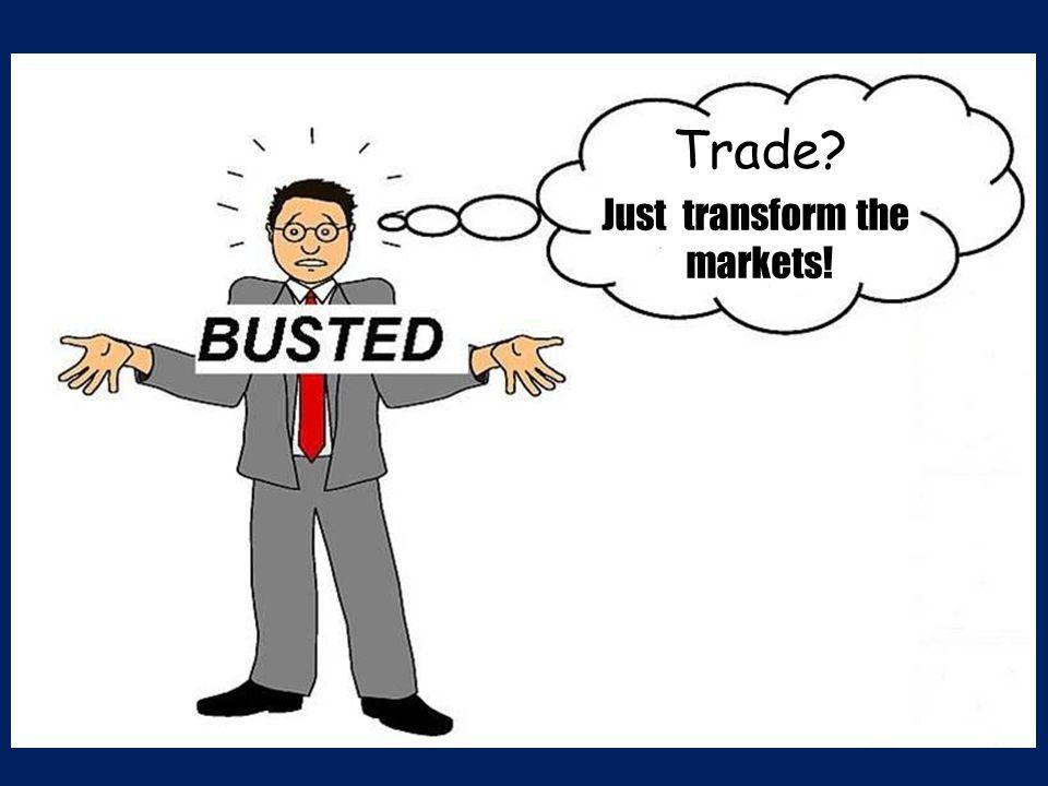 Trade Just transform the markets!