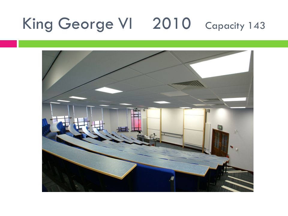King George VI 2010 Capacity 143
