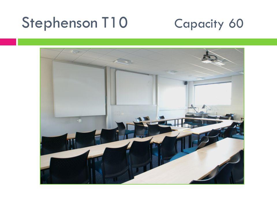Stephenson T10 Capacity 60