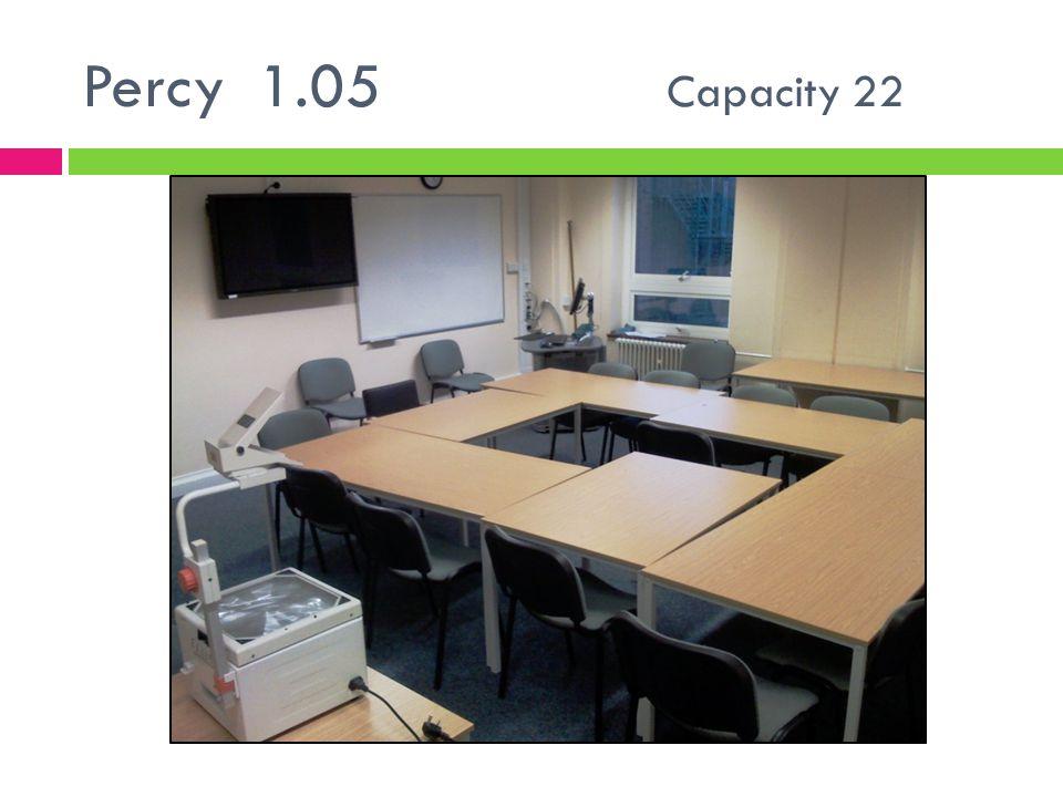 Percy 1.05 Capacity 22