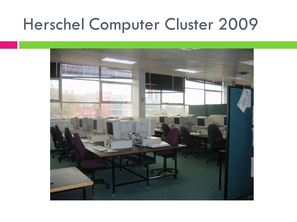 Herschel Computer Cluster 2009