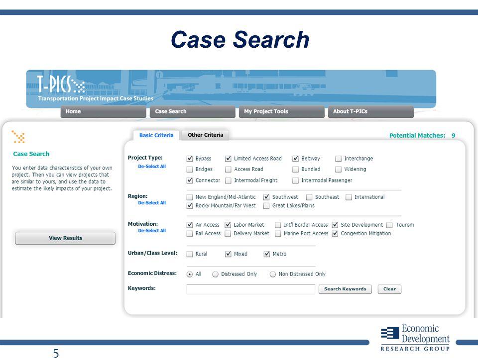 5 Case Search