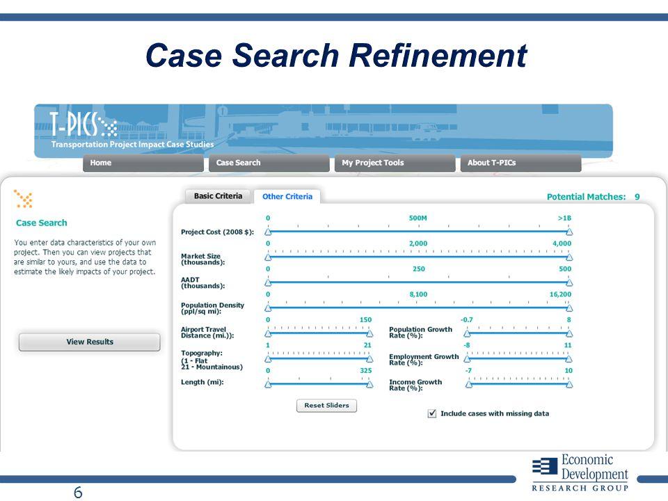 6 Case Search Refinement