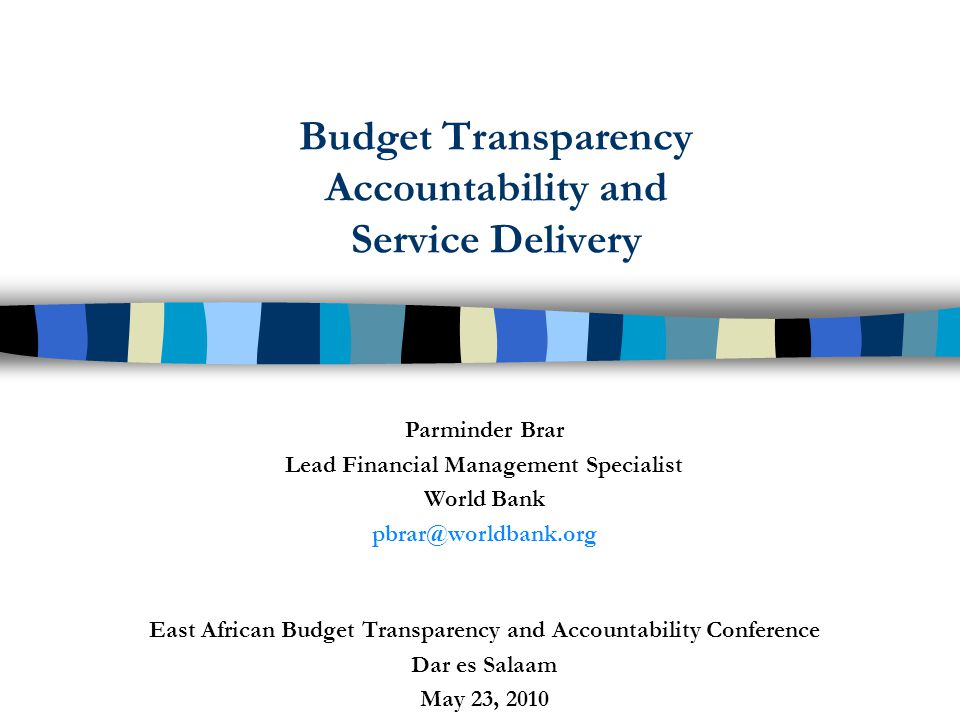 52 Assessment Criteria: Fiduciary The key messages from this report are that: Corruption in Tanzania is a serious governance and developmental challenge Service delivery is crippled by corruption and institutional inefficiency Tackling greed and poverty, the root cause of corruption is paramount in the fight against corruption The business environment is undermined by corruption and excessive bureaucracy Improvement in public administration is needed Intensive public awareness campaign is needed