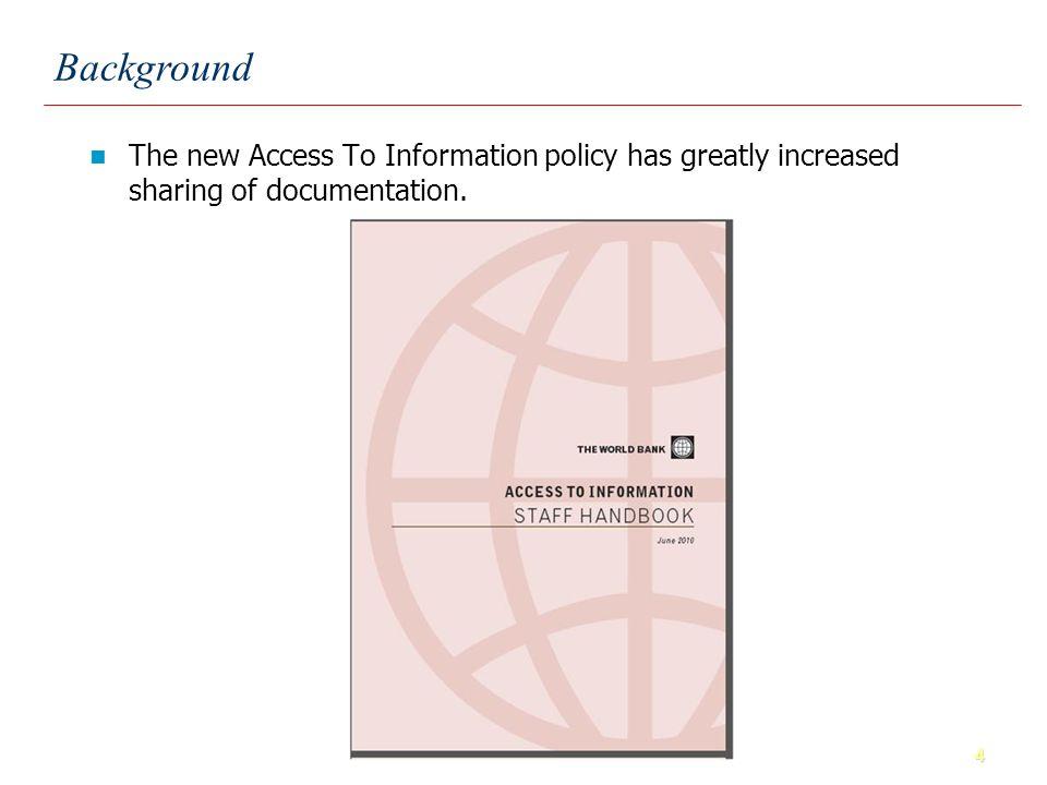 15 Assessment Criteria: World Bank Improvement in Public Sector Management, including PFM has been weak.
