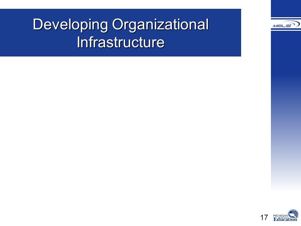 17 Developing Organizational Infrastructure