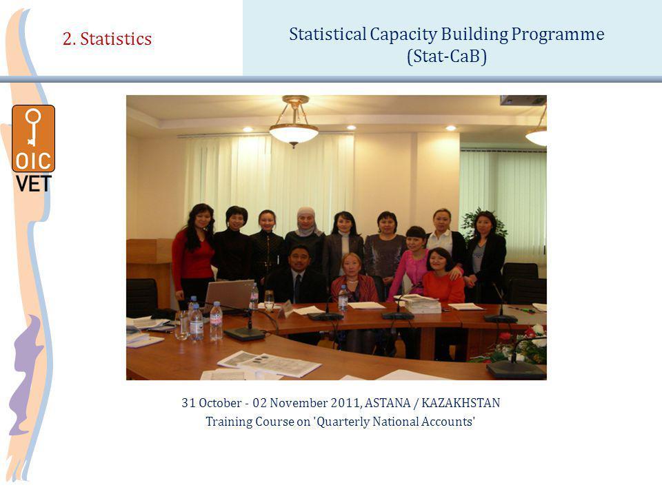 31 October - 02 November 2011, ASTANA / KAZAKHSTAN Training Course on Quarterly National Accounts 2.