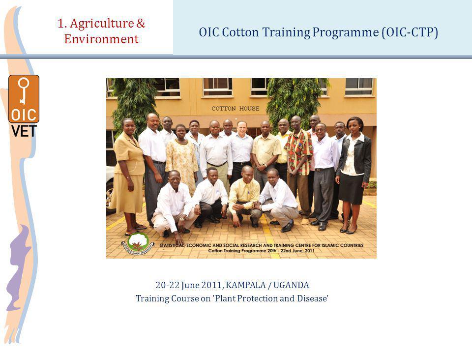 20-22 June 2011, KAMPALA / UGANDA Training Course on Plant Protection and Disease 1.