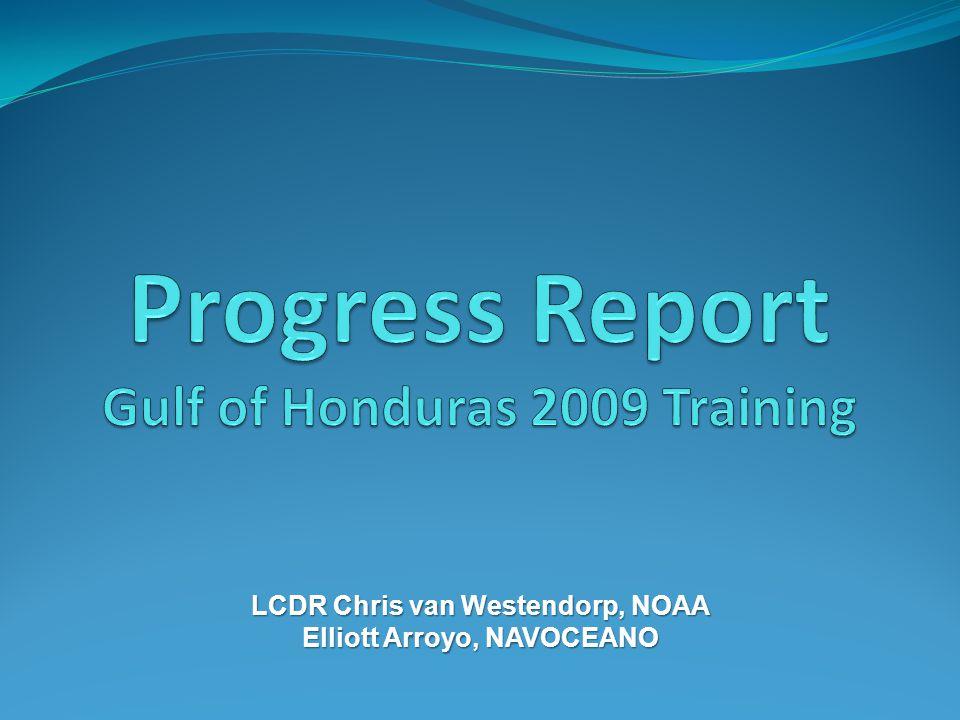 LCDR Chris van Westendorp, NOAA Elliott Arroyo, NAVOCEANO