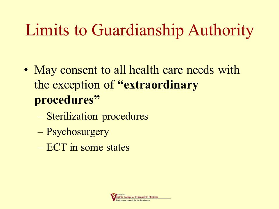 Process of Guardianship Petition filed by interested party alleging incompetence.