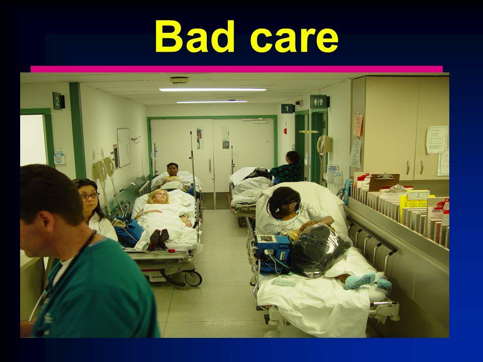 Bad care