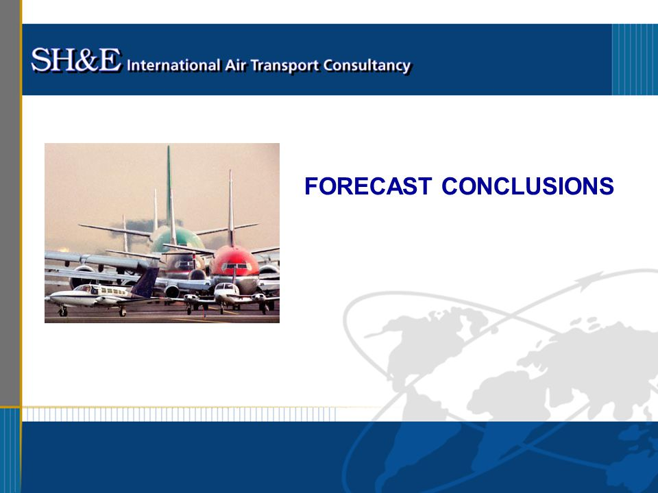 FORECAST CONCLUSIONS