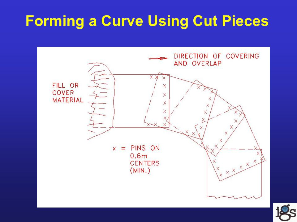 Forming a Curve Using Cut Pieces