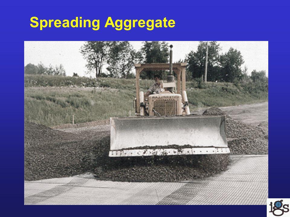 Spreading Aggregate