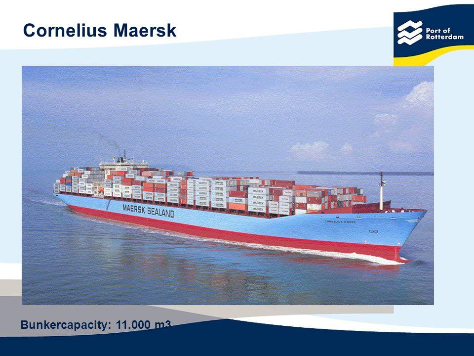 Cornelius Maersk Bunkercapacity: 11.000 m3