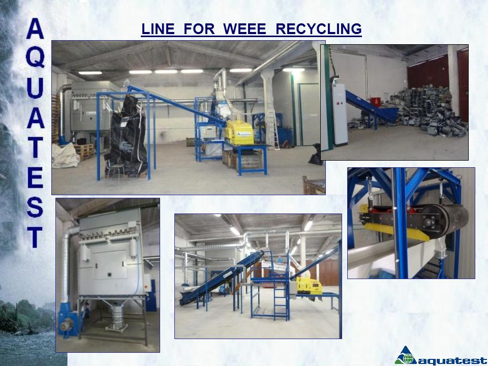 LINE FOR WEEE RECYCLING