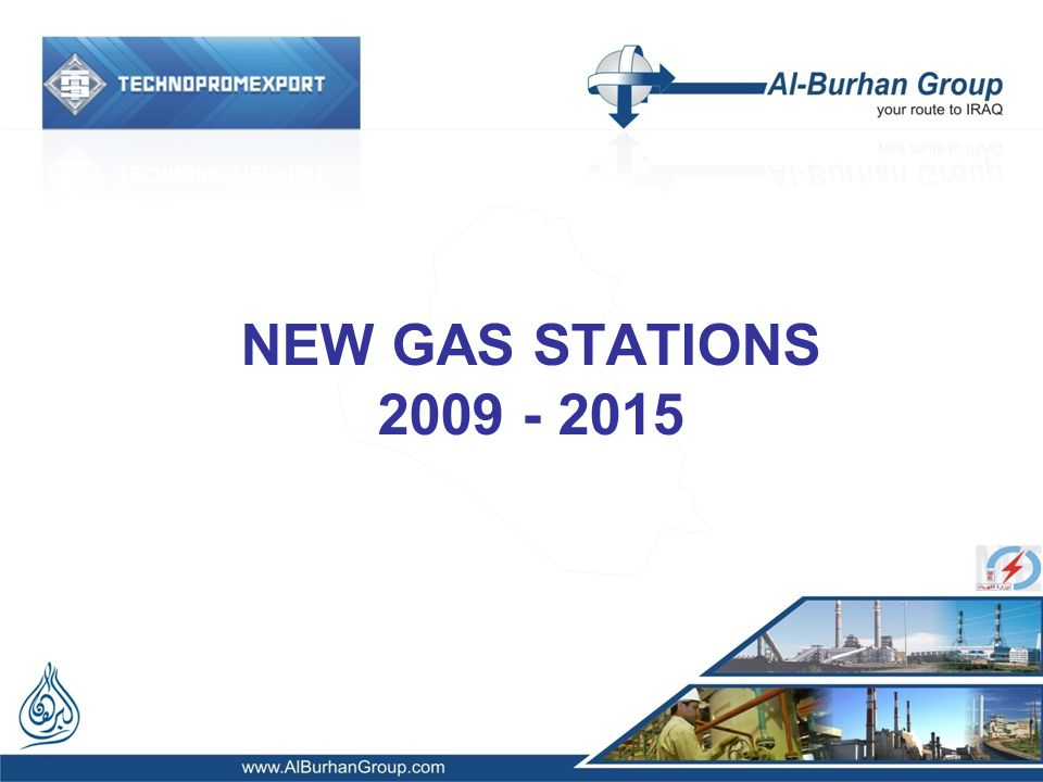 NEW GAS STATIONS 2009 - 2015