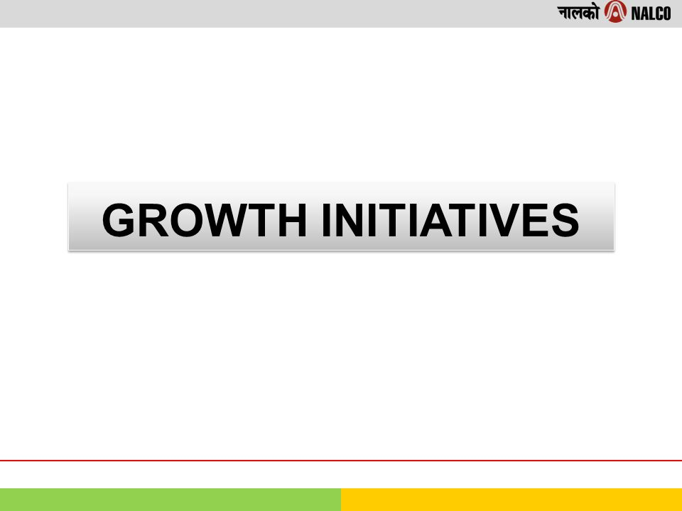 GROWTH INITIATIVES