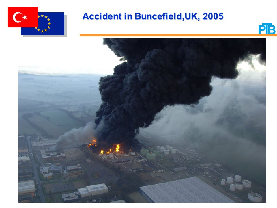 Accident in BuncefieldUK, 2005
