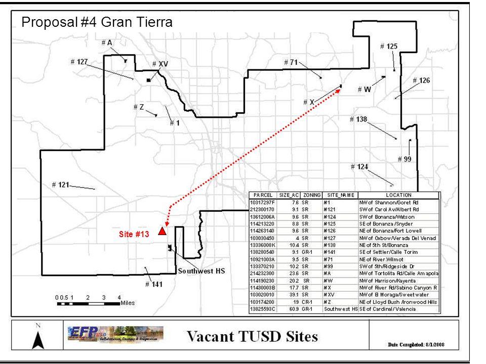 Site #13 Proposal #4 Gran Tierra