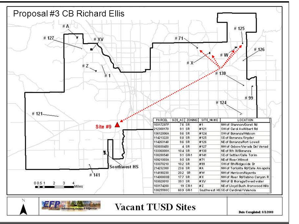 Site #9 Proposal #3 CB Richard Ellis