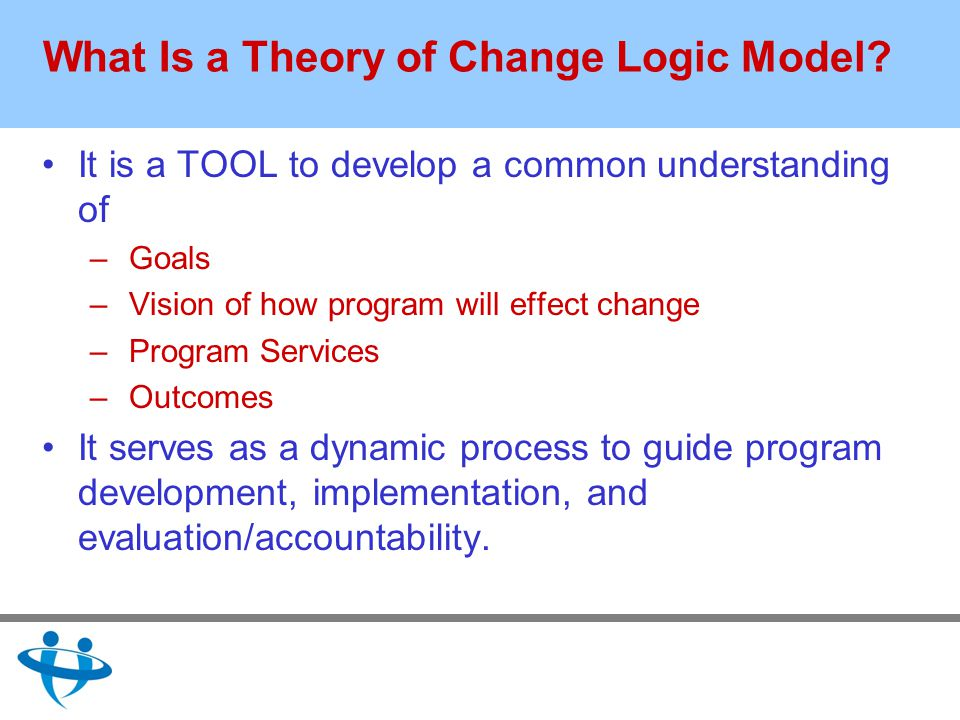 What Is a Theory of Change Logic Model.