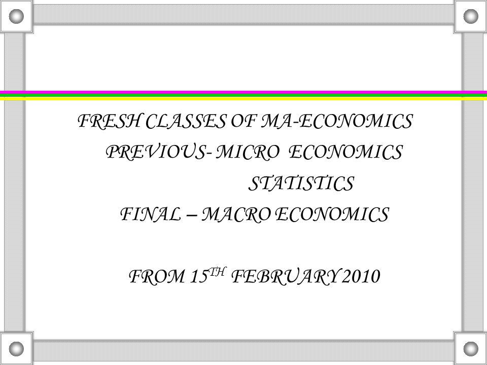 Fresh classes of icmap stage 1-3 Fundamentals of fa(1) Cost accounting(2) Financial accounting(3) Cost accounting-appraisal(3) From 22 nd February, 2010