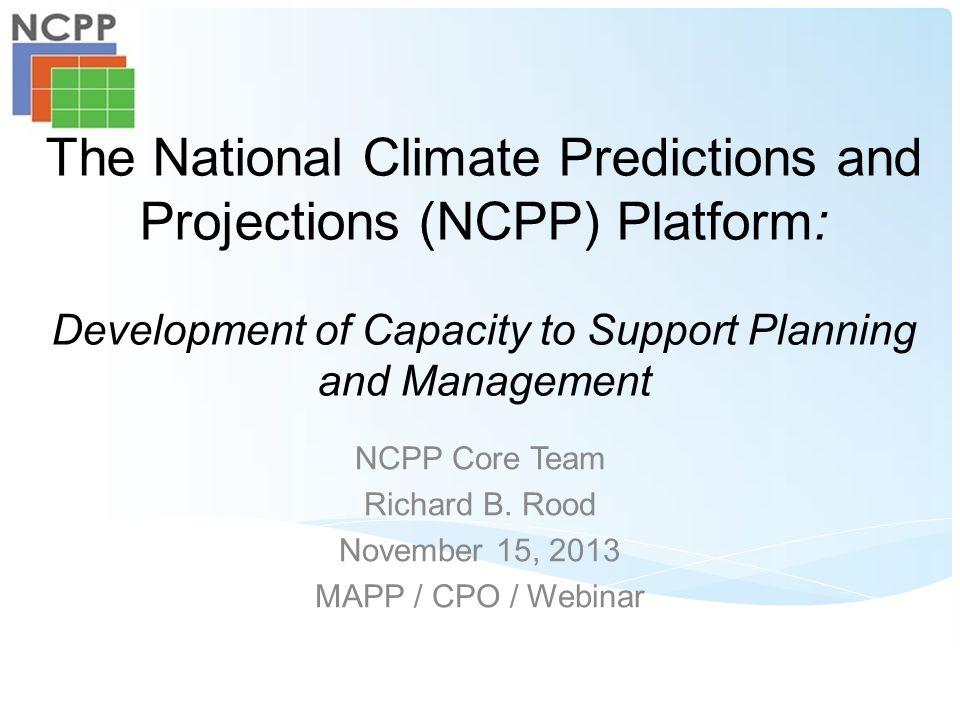Working with USGS –CIDA –CSC (esp.