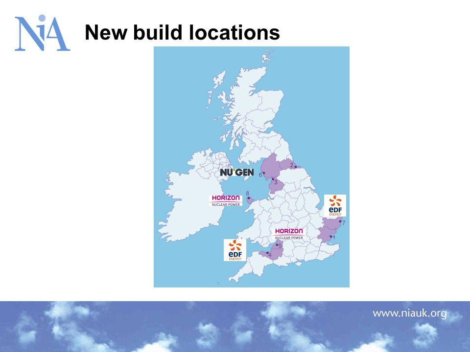 New build locations