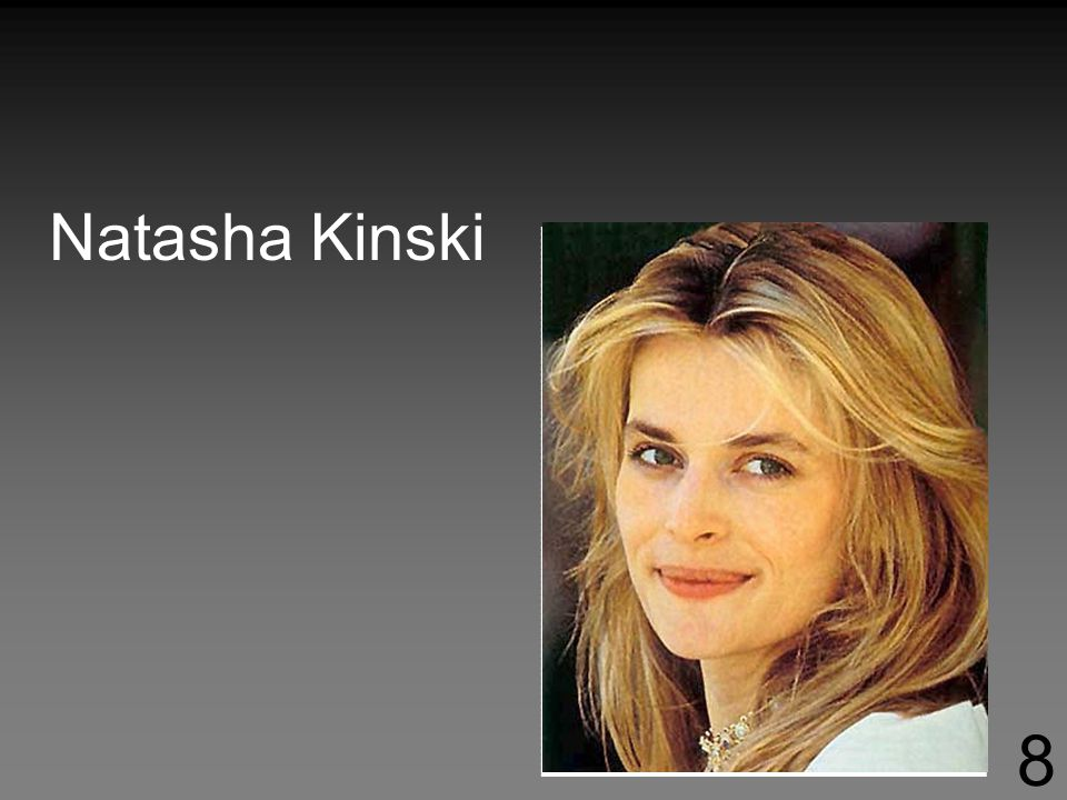 Natasha Kinski 8