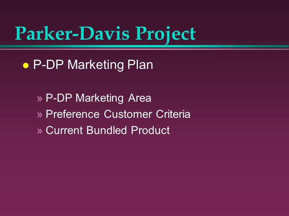 l P-DP Marketing Plan »P-DP Marketing Area »Preference Customer Criteria »Current Bundled Product Parker-Davis Project