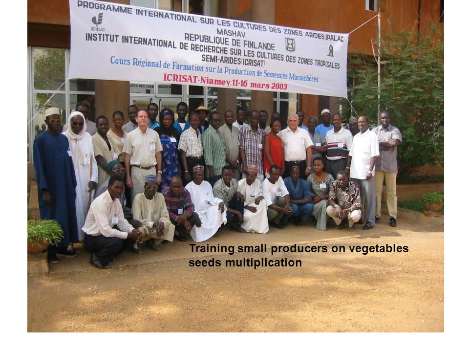 Set up and capacity building costs (USD) for a one hectare AMG in Niger using artesian water as proposed by ICRISAT to a donor