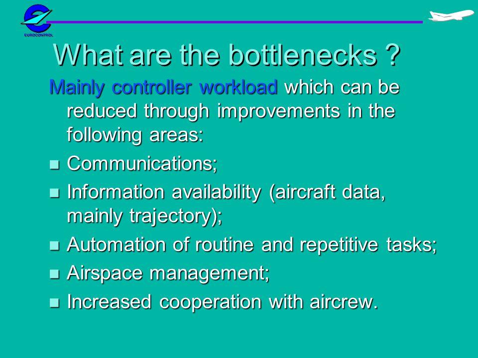 What are the bottlenecks .