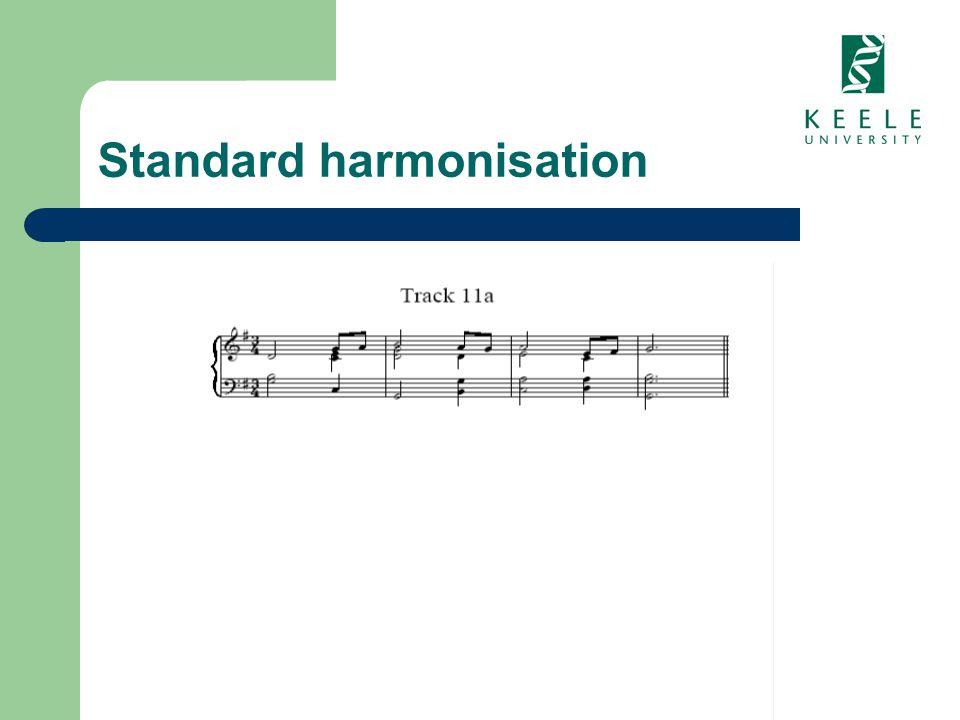 Standard harmonisation