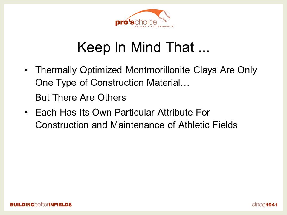 Competitor Process vs. Pros Choice Pros Choice Competitive Thermally Optimized Products GRIND ADVANTAGES OF PROS CHOICE PROCESS MINESIZE / DRYCALCINEM