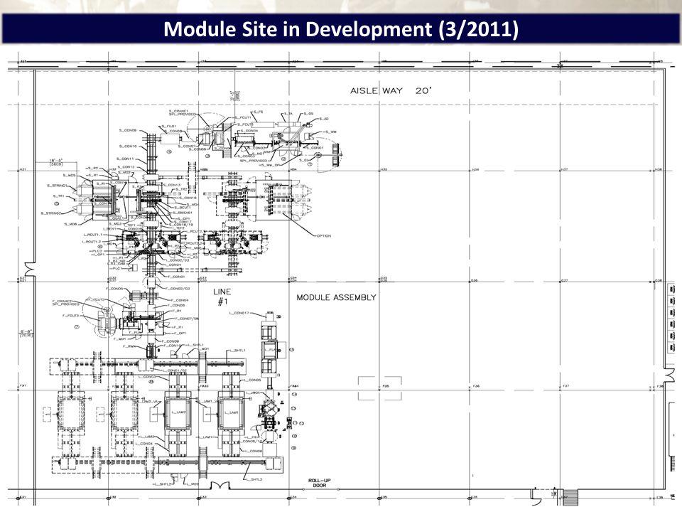 Module Site in Development (3/2011)