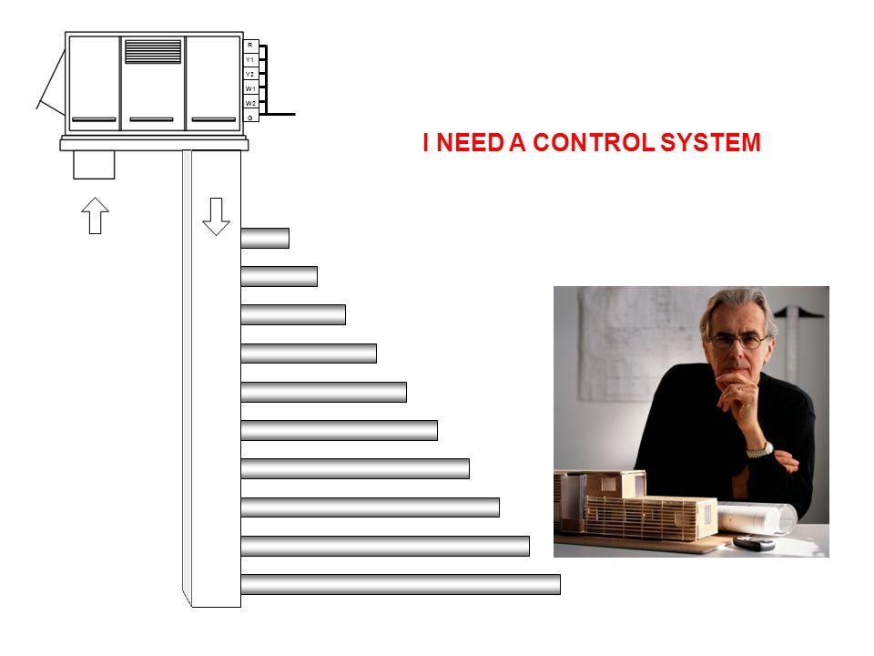 R Y1 Y2 W1 W2 G I NEED A CONTROL SYSTEM