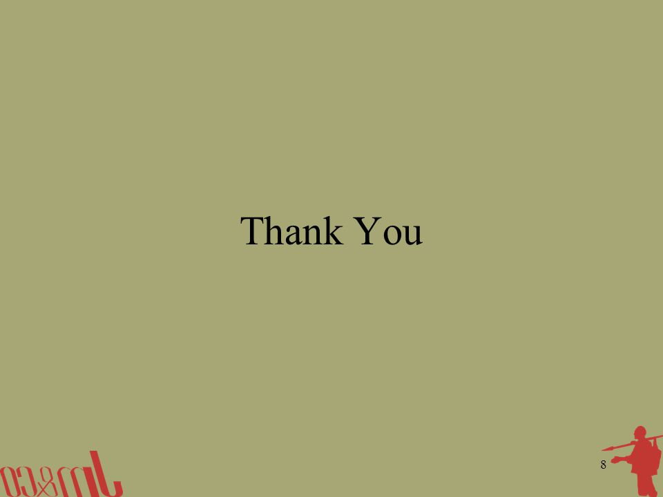 8 Thank You