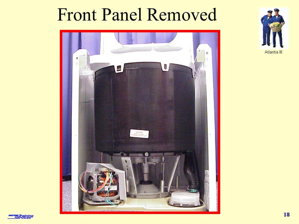 Atlantis III 18 Front Panel Removed