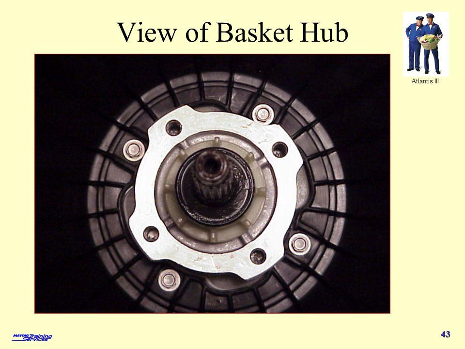 Atlantis III 43 View of Basket Hub
