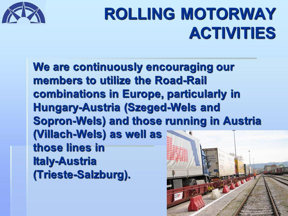 RO-RO ACTIVITIES FACILITIES PROVIDED: -Parking Area for 1.000 vehicles -Customs -Fuel Stations -Gamma Ray & Radioactive Material Checking -Customs Boa