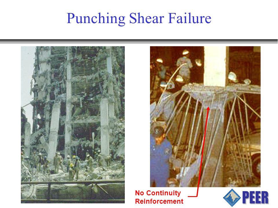 Drift Capacity FEMA 273: –Plastic Rotation Angle, a, depends on V g /V o V g = Gravity shear acting on slab critical section as defined by ACI 318 V o = direct punching shear strength as defined by ACI 318