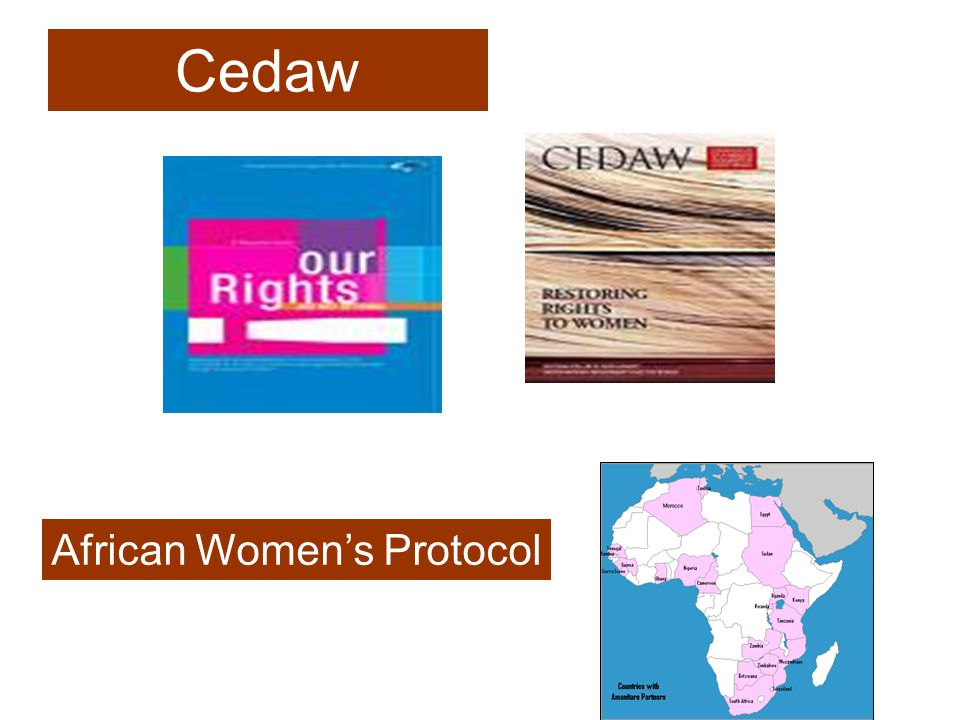 Cedaw African Womens Protocol