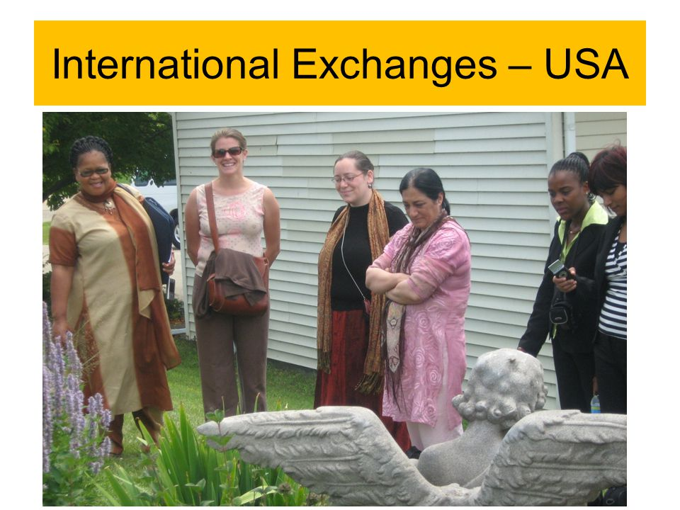 International Exchanges – USA