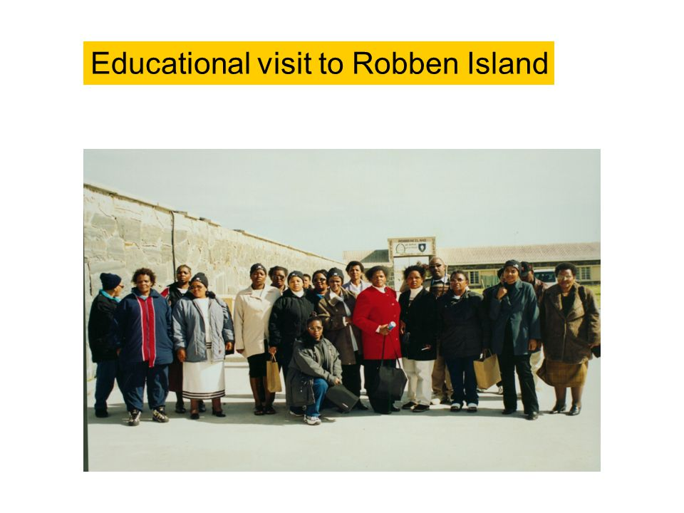 Educational visit to Robben Island
