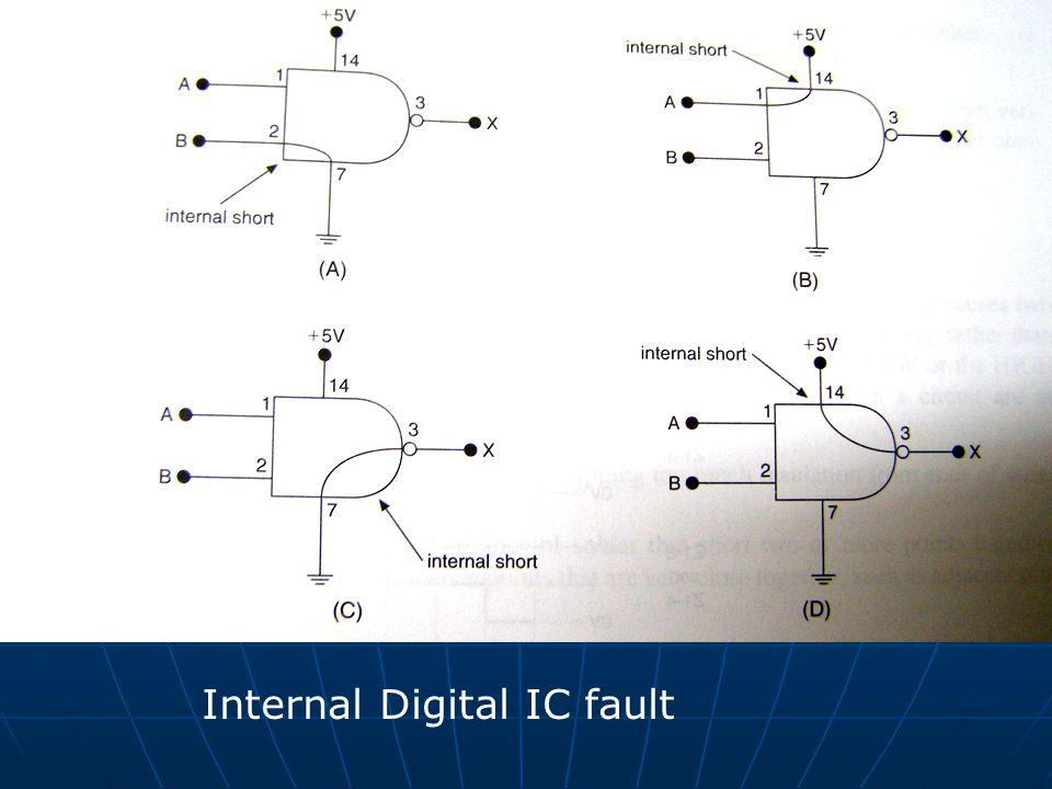 Internal Digital IC fault