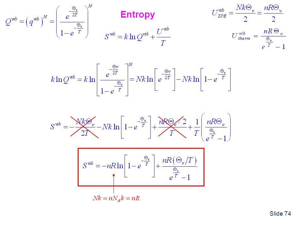 Slide 74 Entropy