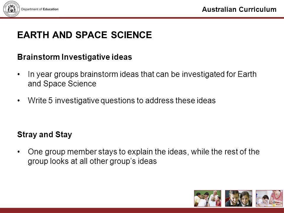 Australian Curriculum PRESENTATIONS 11:50-12:00Group 1 12:05-12:15Group 2 12:20-12:30Group 3